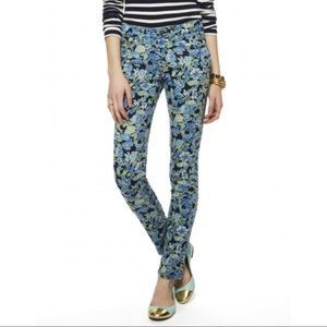 C. wonder stretch floral print skinny jeans sz 27